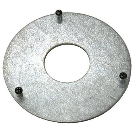 ENS Metal Base Blue Pad Round 4.25 inch Diameter - for ENS Credit Card Payment Terminal Stands by ENS (Image #1)