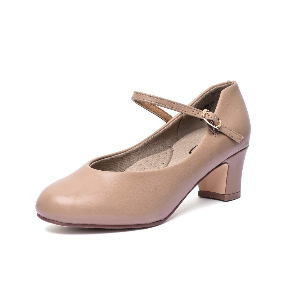 STELLE 2'' Character Shoe/Dance Shoe (Women/Big Kid)(7.5M, Tan)