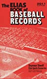 The Elias Book of Baseball Records 2011 Edition, Seymour Siwoff, 0917050134