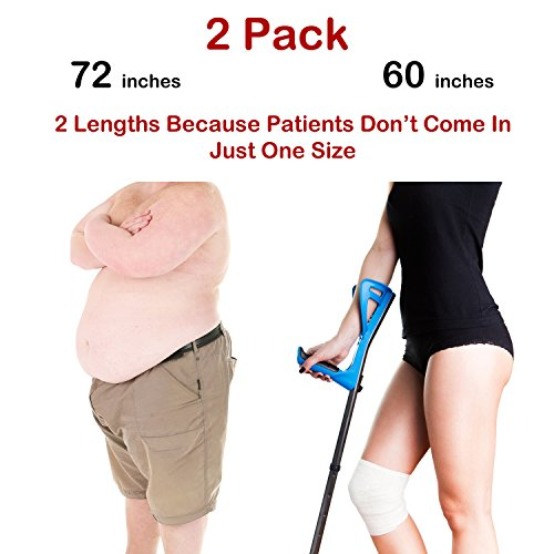 Transfer Belt - 2 For 1 Physical Therapy Gait Belt with Metal Buckle. 60 inch Beige plus a bonus 70 inch Black Strap. Never Worry About Having The Wrong Size Or Equipment Again.