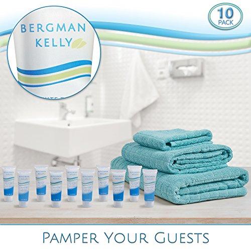 BERGMAN KELLY Travel Body Wash Hotel Toiletries (Hotel Size 1 Fl Oz, 50 Pack) Hotel Body Wash, Small Body Wash for Hotel Amenities, Mini Body Wash Bulk, Perfect for Travel Gym Charity by BERGMAN KELLY (Image #5)