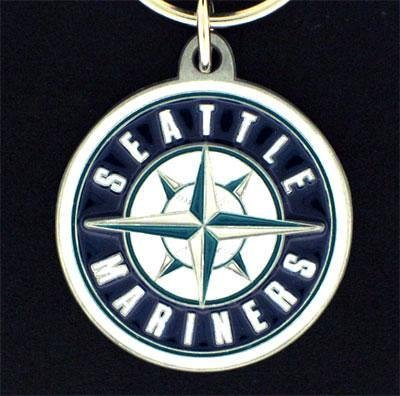 Siskiyou MLB Seattle Mariners Carved Key Chain, Metal