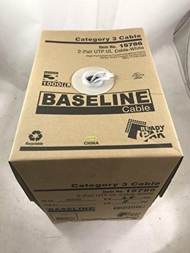 Baseline Cable #15786 C3-1000'-UTP-WT
