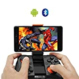 VR Gamepad, Ausun M1 Wireless Bluetooth Game Controller Joypad Joystick for Android Phone Samsung Gear VR, S6, S6 Edge, S7, S7 Edge, Note 5, Nexus, HTC, LG/Tablet PC Games with Clip