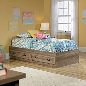 Sauder County Line Twin Mates Bed in Salt Oak. Amazon com  Sauder County Line Twin Mates Bed in Salt Oak  Kitchen