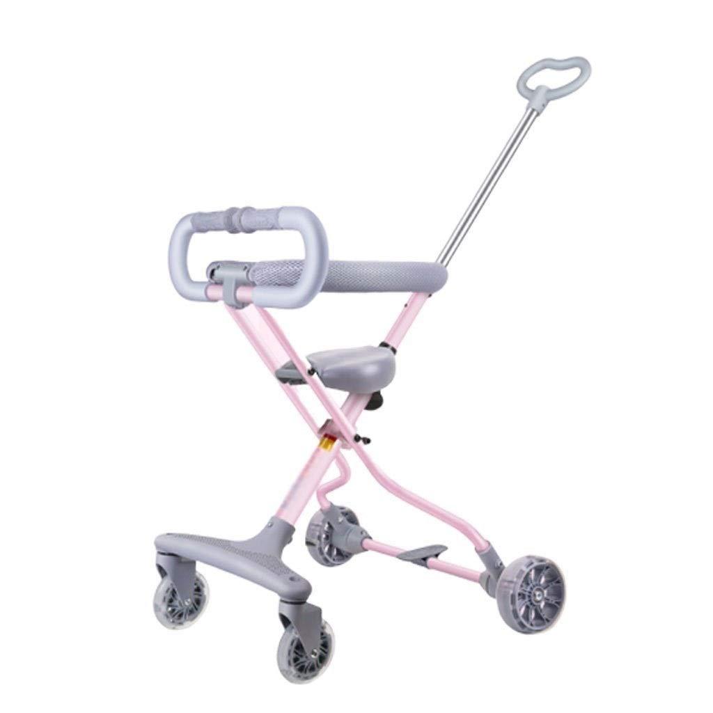 Jixi Cochecito de bebé Cochecito de niño de Aluminio ...