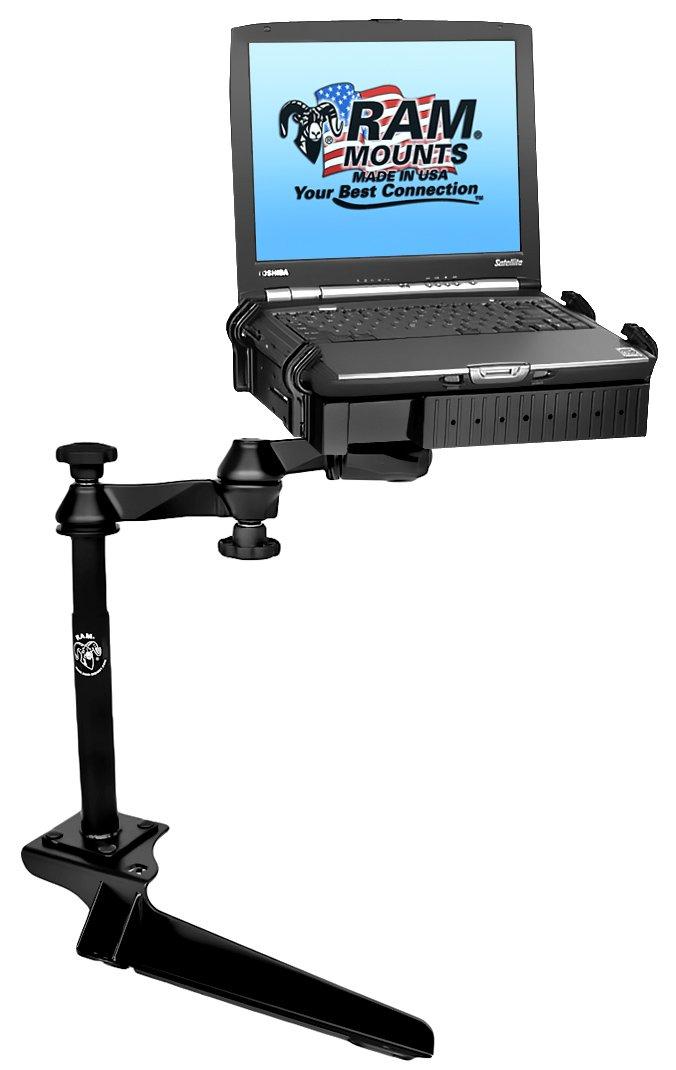 No-Drill Laptop Mount for the Ford F-250, F-350, F-450, F-550, F-650, F-750 & Excursion RAM-VB-185-SW1
