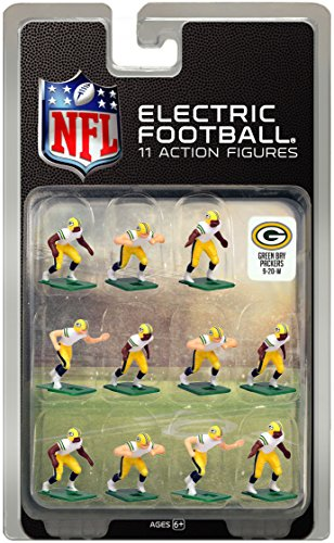 Green Bay Packers White Uniform NFL Action Figure Set