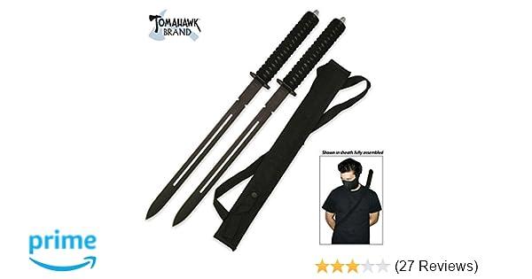 Acemas Twin Ninja Sword Set