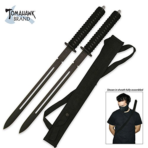 (Acemas Twin Ninja Sword Set)