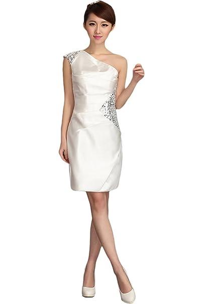 Gorgeous Novia corazones cordones largo vestido de playa vestido de novia Prom Blanco blanco