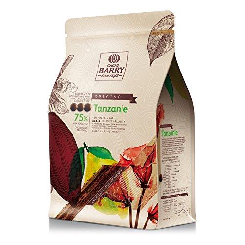 Cacao Barry Origine - 75% Tanzanie Chocolate Negro de ...