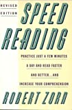 Speed Reading, Zorn, Robert L., 0064637344