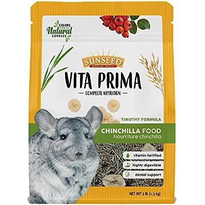 Sunseed Vita Prima Complete Nutrition Chinchilla Food, 3 LBS