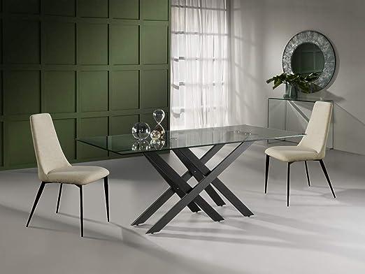 Schuller - Mesa de Comedor Moderna - Taima (180x90): Amazon.es: Hogar