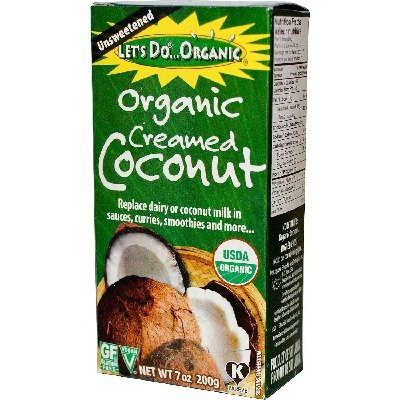 - Let's Do Organic Creamed Coconut, 7-Ounce Boxes (Pack of 2)