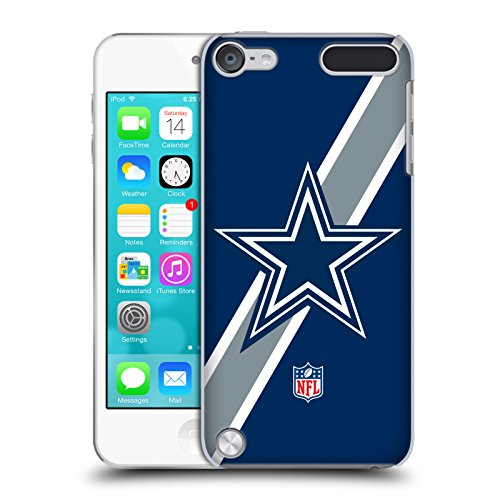 Price comparison product image Official NFL Stripes Dallas Cowboys Logo Hard Back Case for iPod Touch 5th Gen / 6th Gen