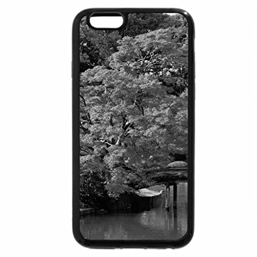 iPhone 6S Plus Case, iPhone 6 Plus Case (Black & White) - Autumn in Japan