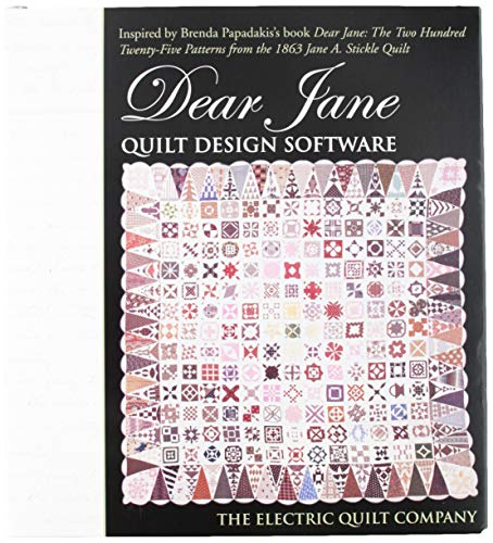 (Electric Quilt(R) Company's Dear Jane Quilt Design Software)
