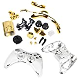 xbox accesories 360 - MagiDeal Replacement Housing Shell Case Accesories Kits for Xbox 360 Controller Gold