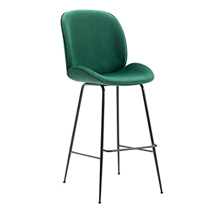 Stupendous Amazon Com Fashion Chair Barstool With 45 High Back 77Cm Cjindustries Chair Design For Home Cjindustriesco