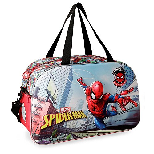 Marvel Grafiti Travel Duffle, 45 cm, 26.46 liters, Multicolour (Multicolor)