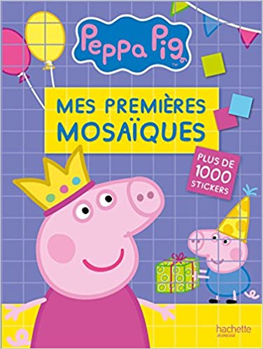 Lire Peppa Pig - Mes premières mosaïques epub pdf