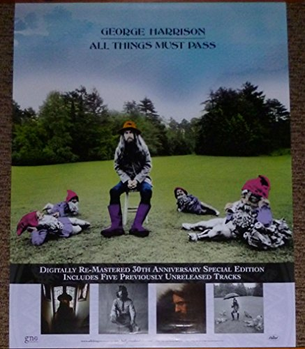 GEORGE HARRISON All Things Must Pass PROMO LP CD POSTER from 2001