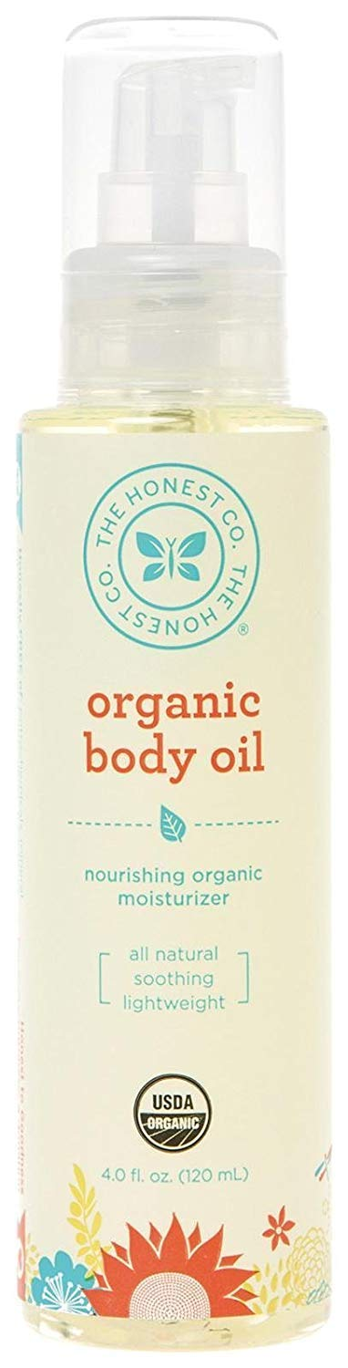 The Honest Company Organic Body Oil | Certified Organic | All-Natural | Plant-Based | Hypoallergenic | Lightweight…