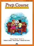 Alfred's Basic Piano Prep Course Theory Book, Bk A: For the Young Beginner