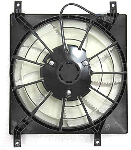 A-C condensador Ventilador de refrigeración acoplamiento directo para/fit 07 – 13 Suzuki SX4: Amazon.es: Coche y moto