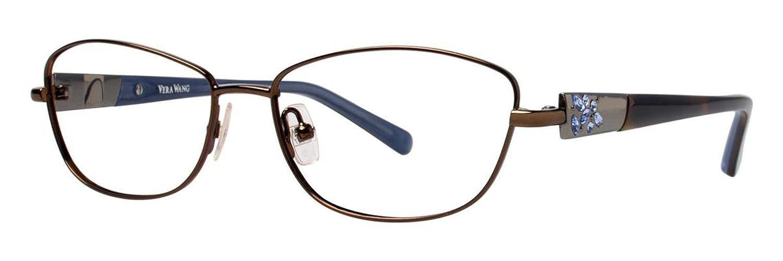VERA WANG Eyeglasses DIAPHANOUS Greige 51MM