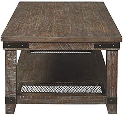 Signature Design by Ashley T446-1 Danell Ridge Coffee Table, Brown