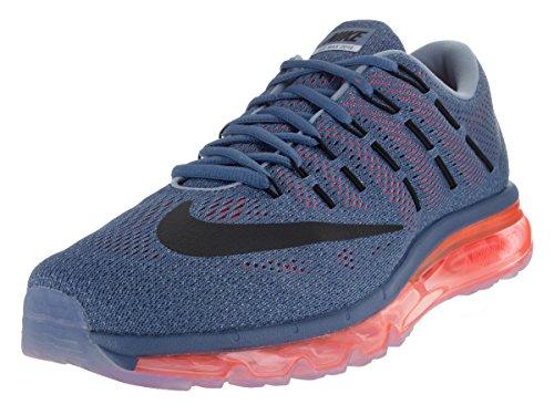 Nike Air Max 2016 Herren Bas En Haut, 44 Eu Azul / Naranja Noir Gris (ocn Fg Blck-brght Gry De Crmsn-bl)