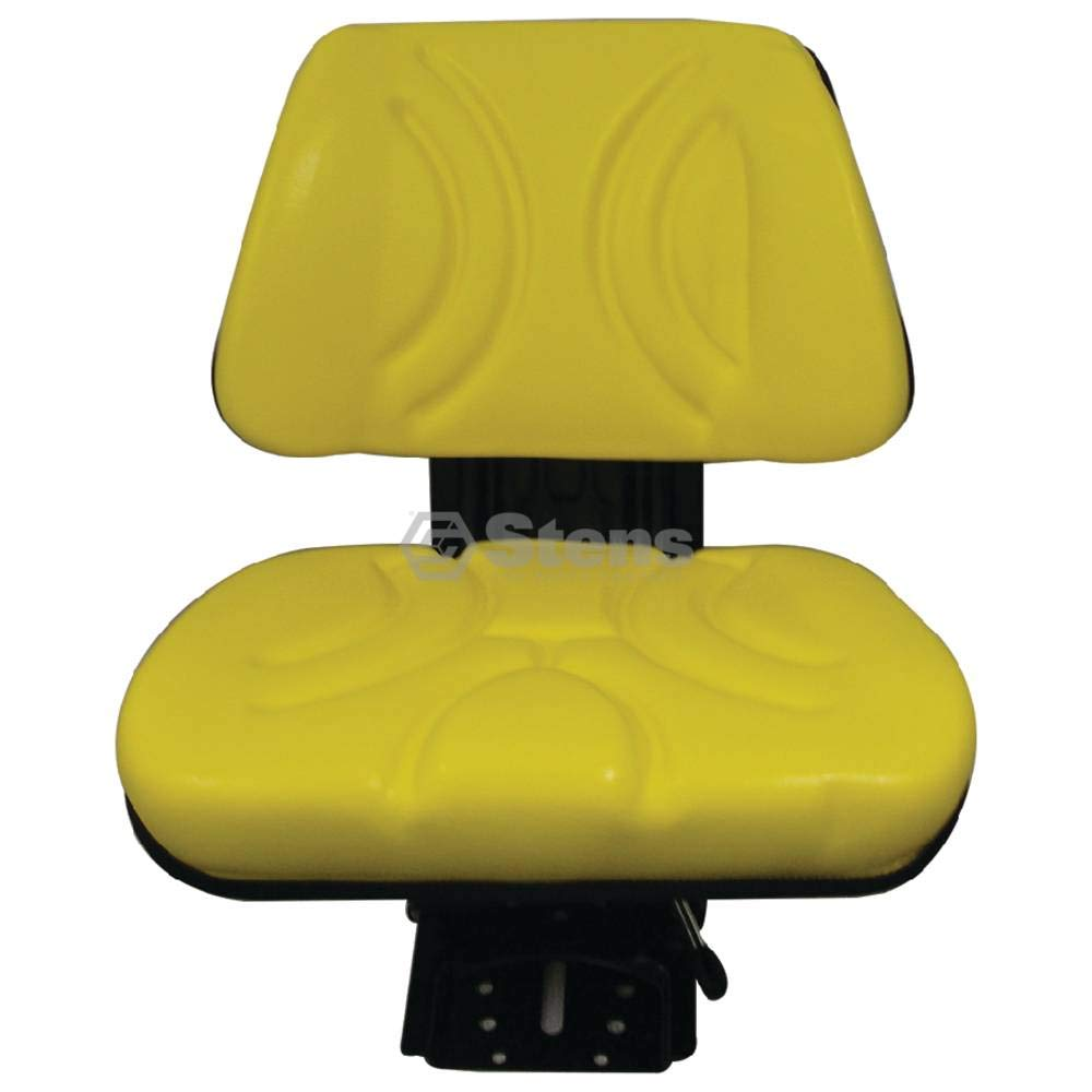 Stens Seat for Economy suspension, yellow, adjustable