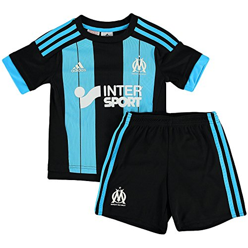 fan products of adidas Performance Olympique Marseille Away Boys Replica Soccer Mini Kit 2T