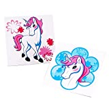 Enchanted Unicorn Party Supplies - Tattoos