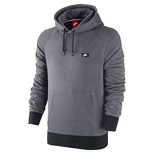 Nike Men's AW77 French Terry Shoebox Hoodie Sweatshirt, Medium