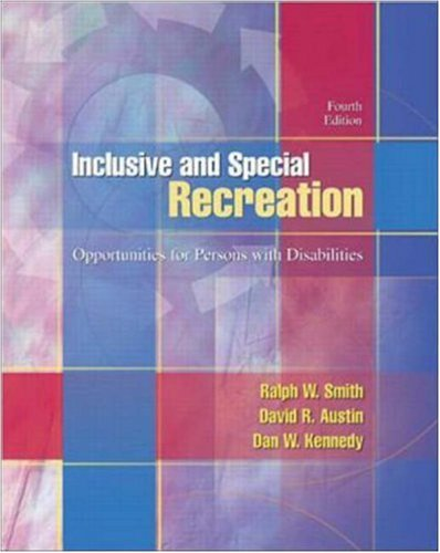 Inclusive and Special Recreation with Powerweb Health & Human Performance
