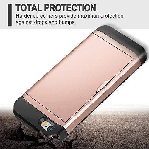 Iphone 5s Case Iphone Se Case Samonpow Hybrid Iphone 5s Wallet