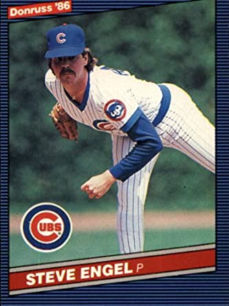 Amazoncom 1986 Donruss Baseball Card 510 Steve Engel Mint