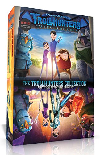 The Trollhunters Collection: The Adventure Begins; Welcome to the Darklands; The Book of Ga-Huel; Age of the Amulet -