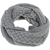 Fashion Soft Wool Thick Knitting Scarf Winter Warmer Infinity Shawl Wrap