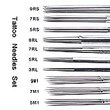 Tattoo Needles and Tips Kit - Autdor 50pcs