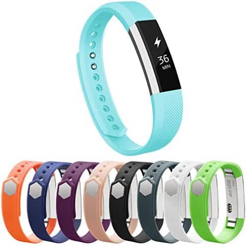 Vancle Fitbit Alta Bands, Newest Adjustable Replacement Bands for Fitbit Alta/ Fitbit Alta band/ Fitbit Alta Bands (with Metal Clasp,No Tracker)