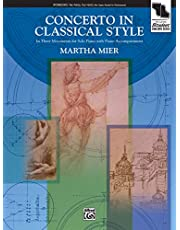 Concerto in Classical Style: In Three Movements for Solo Piano with Piano Accompaniment, Sheet