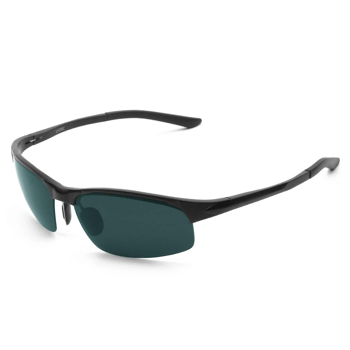 LATEC Gafas de Sol de conducción polarizada, Gafas de conducción para Hombres Gafas Deportivas Gafas