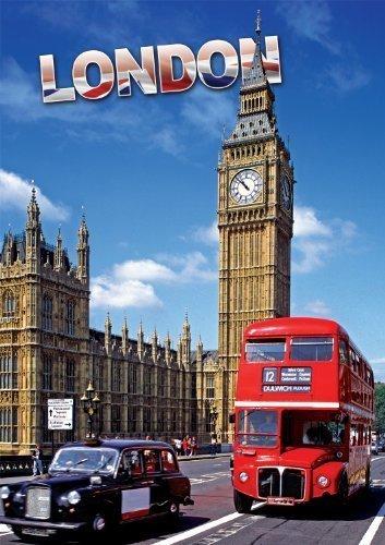 Buffalo Games Large Piece Travel, London - 300pc Jigsaw Puzzle by Buffalo Games