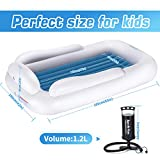 Lunvon Baby Kids Inflatable Portable Toddler Bed