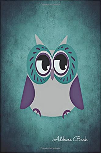 Address Book: Cute Owl For Contacts, Addresses, Phone Numbers, Emails &  Birthday. Alphabetical Organizer Journal Notebook: For All, Journals:  9781535308373: Books - Amazon.ca